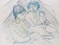 Otto Mueller - Zwei Zigeunerinnen mit Kind (oder Puppe) - ca1927.jpeg