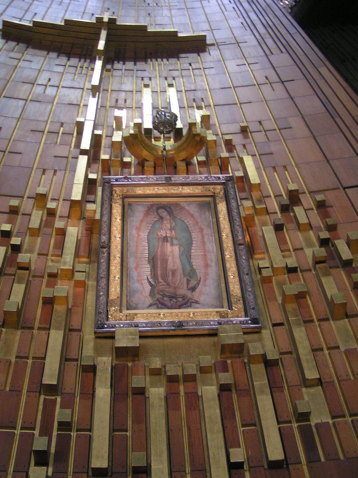 Nostra signora di guadalupe wikipedia - Images of la virgen de guadalupe ...