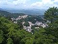 Overlooking Jiuhua Town from Baisui Palace 01.jpg