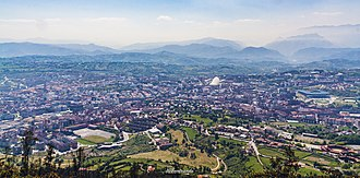 Oviedo - Panoramic view of Oviedo