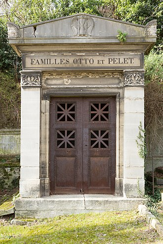 Louis-Guillaume Otto - Otto's tomb in Paris