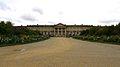 P1010231 Picardie, Compiègne, le château (1751-1789) façade du côté du parc et de la forêt (8381351562).jpg