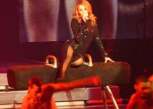 "Red Blooded Woman - Minogue performing ""Red Blooded Woman"" during her 2009 North American For You, For Me tour"