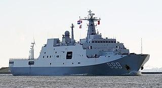 class of Chinese amphibious transport docks