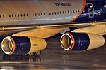 PS-90A engines on Aeroflot Ilyushin Il-96 RA-96005 Petrov.jpg