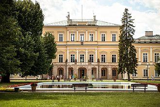 Puławy - Czartoryski Palace.