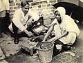 Paan wallah in Calcutta in 1945.jpg