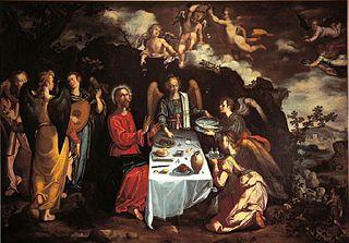 Le Christ servi par les anges dans le désert
