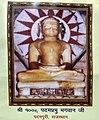 Padampura Atishay kshetra - Padampura Idol.jpg