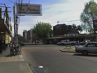 San Antonio de Padua - Commercial area.
