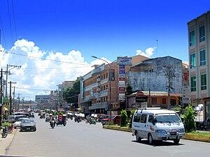 English: View along Rizal Avenue, Pagadian Cit...