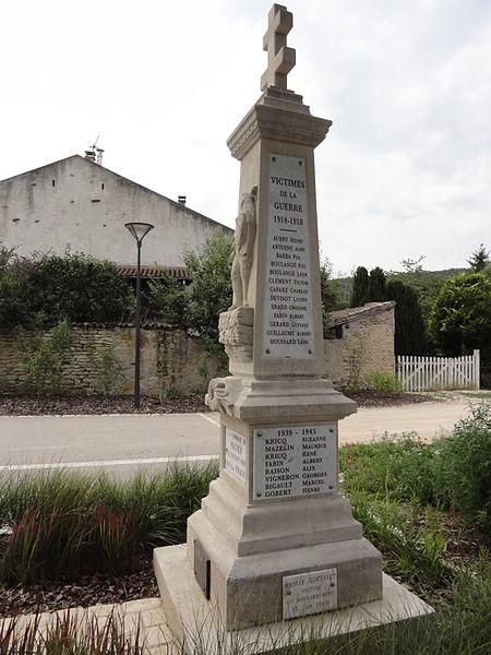 Pagney-derrière-Barine (Meurthe-et-M.) monument aux morts