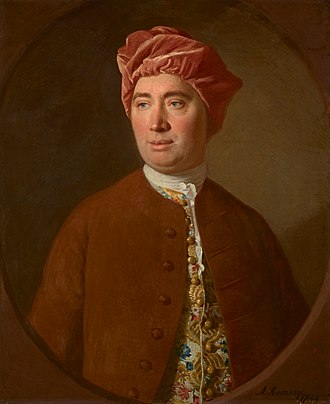 David Hume - Portrait by Allan Ramsay