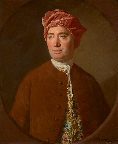 Painting of David Hume