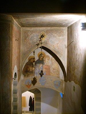 Palazzo Rosselli del Turco - Image: Palazzo rosselli del turco, affreschi