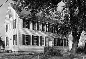 Palmer-Marsh House - Palmer-Marsh House in 1962