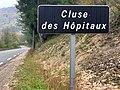 Panneau cluse des Hôpitaux à La Burbanche (octobre 2019).jpg