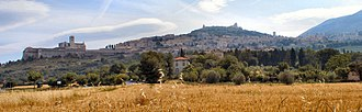 Umbria - View of Assisi