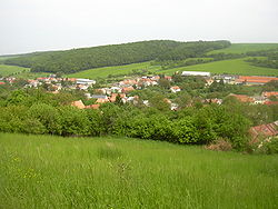 Skyline of Orlovice