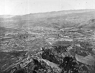 Tegucigalpa - Panorama of Tegucigalpa, 1889