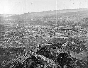 Panorama of Tegucigalpa, Honduras (1889)