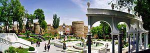 Panoramabild Baku Filarmonia Park