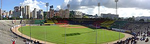 Leones del Caracas - Panoramic view of the stadium.