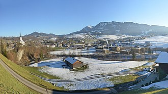Egg, Austria - Panoramic view of Egg
