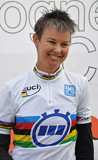 Shelley Gautier Canadian Paralympic cyclist