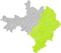 Parignargues (Gard) dans son Arrondissement.png