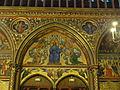Paris (75), Sainte-Chapelle, chapelle haute, tympan à l'intérieur du portail occidental.JPG