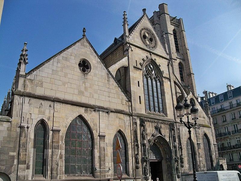File:Paris - église St Nicolas des champs 1.JPG, Церкви Парижа, достопримечательности Парижа, Париж, путеводитель по Парижу, что посмотреть в Париже