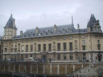 Palais de Justice, Paris - The south range.