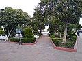 Parque de Calpulalpan, Tlaxcala cerrado durante la Pandemia de COVID-19 01.jpg