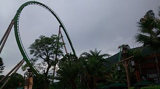 Chimelong Ocean Kingdom - Image: Parrot roller coaster