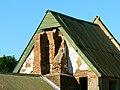 Part of chimney, former Seagram's Farm, Imber, Salisbury Plain - geograph.org.uk - 535419.jpg