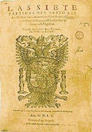 Literature of Alfonso X - Image: Partidas
