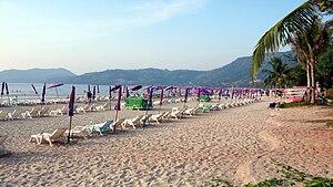 Strand von Patong Beach