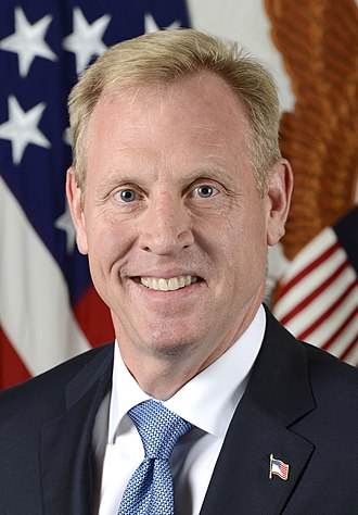 United States federal executive departments - Image: Patrick M. Shanahan official portrait (cropped)
