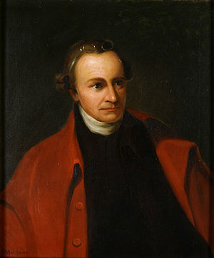 Gunpowder Incident - Patrick Henry, portrait by George Bagby Matthews c. 1891 after an original by Thomas Sully