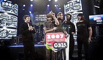 Patrick Watson (musician) - Patrick Watson at the 2007 Polaris Music Prize gala.