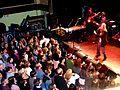 Patti Smith performing at Bowery Ballroom, New York City (1).jpg