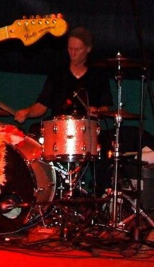 Kula Shaker - Drummer Paul Winterhart with Kula Shaker in 2007.