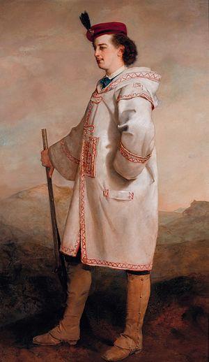 Pavel Pavlovich Demidov, 2nd Prince of San Donato - Paul Demidoff, Prince of San Donato (Gustave Ricard, 1859)