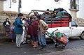 Paying the Jitney Driver - Chichicastenango.jpg