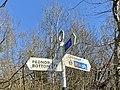 Pednor Bottom-Chesham street sign, March 2021 1.jpg