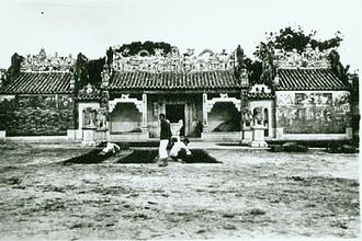 Yuk Hui Temple - Yuk Hui Temple in the 1930s.