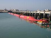 Pelamis Wellenkraftwerk Portugal 3