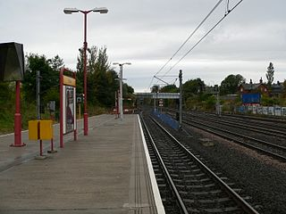 Pelaw Metro station Station of the Tyne and Wear Metro