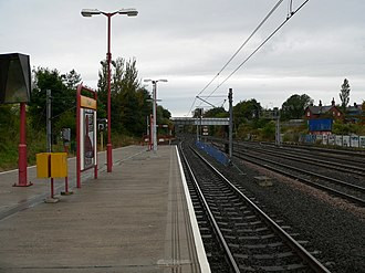 Pelaw Metro station - Pelaw